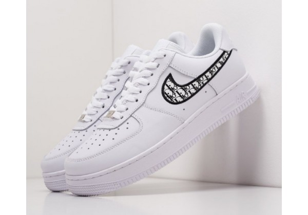 КРОССОВКИ NIKE X DIOR AIR FORCE 1 LOW WHITE